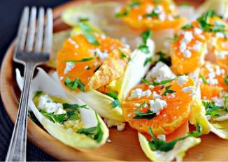 California Endive Salad with Satsuma Mandarin Orange
