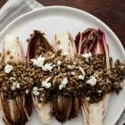 Grilled Endive with Lentils