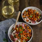 Sweet Potato, Endive & Quinoa Salad